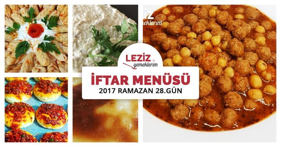 Iftar menusu — Görsel Yemek Tarifleri Sitesi - Oktay Usta ...