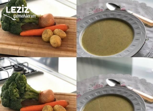 Brokoli Çorbası (Vitamin Deposu)