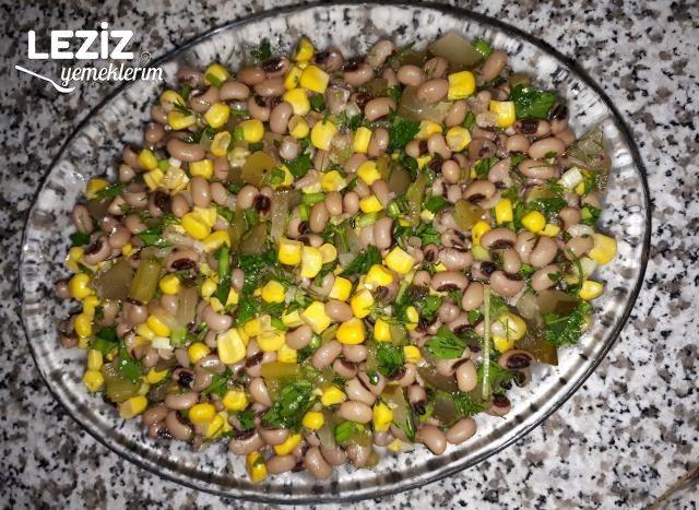 Kuru Börülce Salatası Yapımı