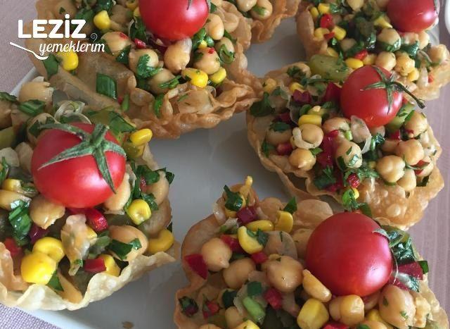 Nohut Salatası Yapımı