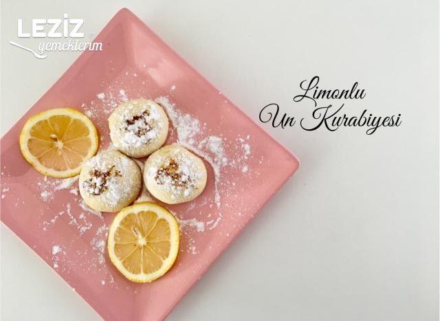 Limonlu Un Kurabiyesi