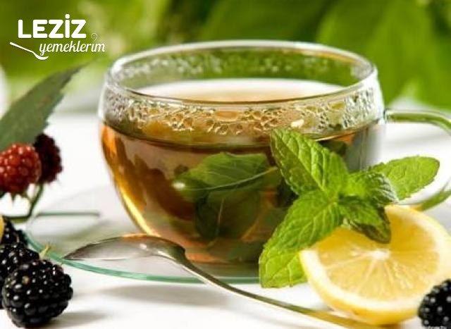 Meyveli Nane Limon Çayı