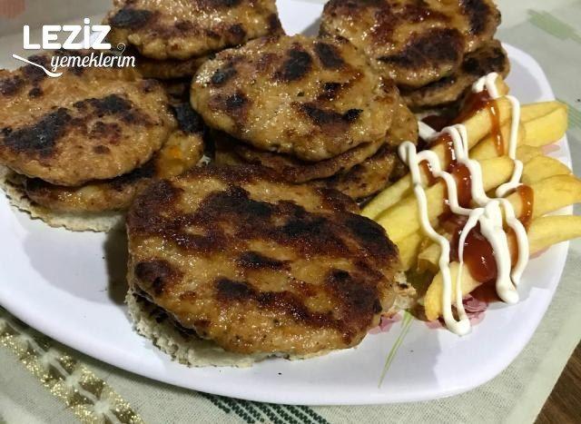 Tavuk Burger Köftesi