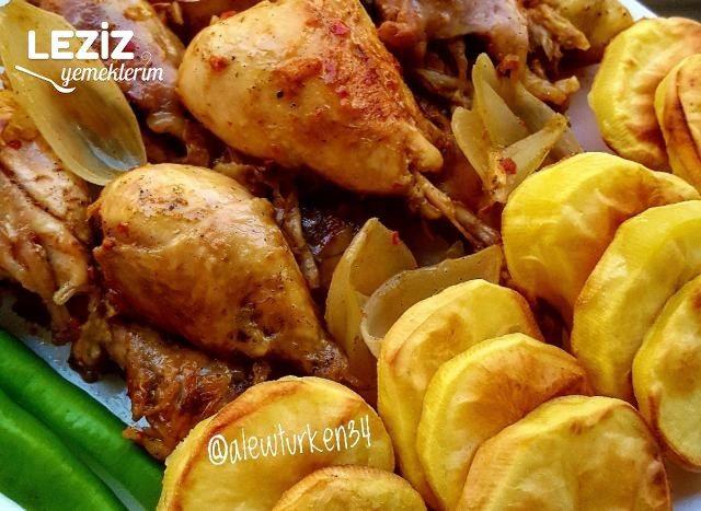 Baharatlı Ve Acılı Tavuk Bagetler