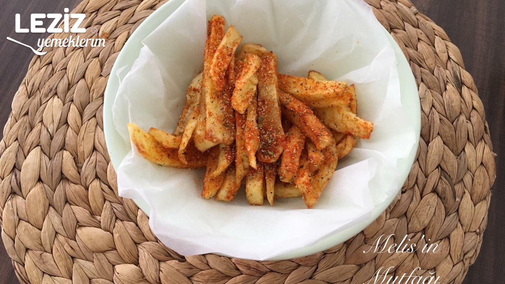 Baharatlı Patates Kızartması Tarifi