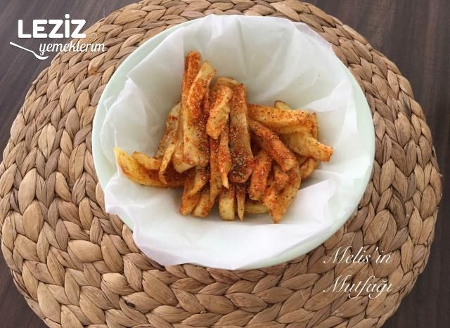Baharatlı Patates Kızartması