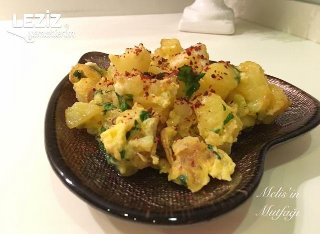 Patatesli Omlet Yapılışı