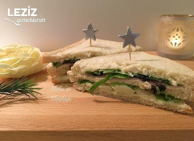 Zeytinli Jambonlu Sandviç