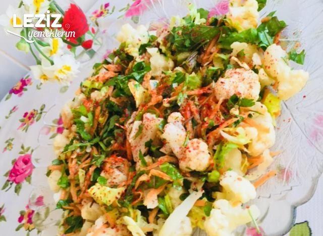 Doyurucu Karnabahar Salatası