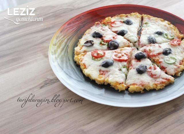 Unsuz Karnabahar Pizza