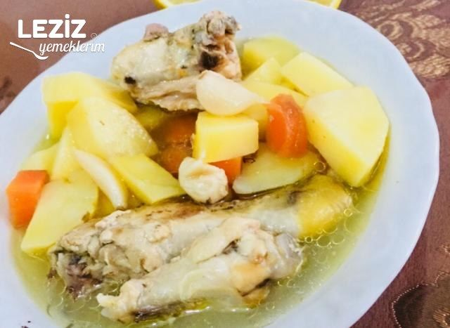 Tavuk Haşlama (Sebzeli)