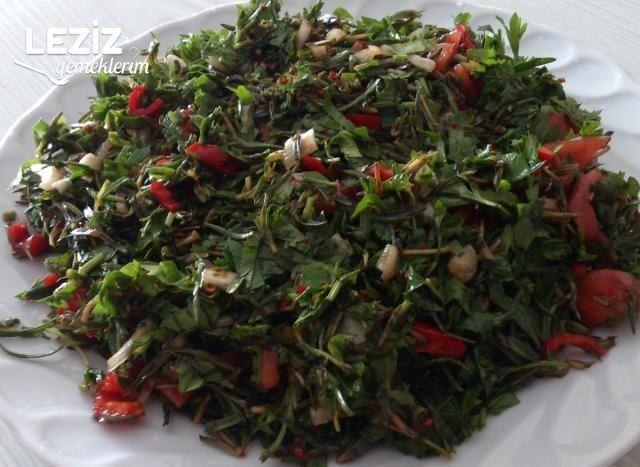Kırmızı Biberli Kekik Salatası