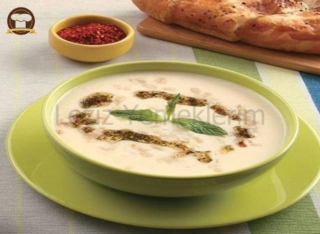 Labneli Soğuk Buğday Çorbası
