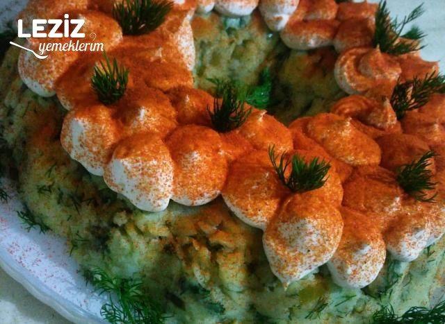 Patates Salatası (Süzme Yoğurtlu)