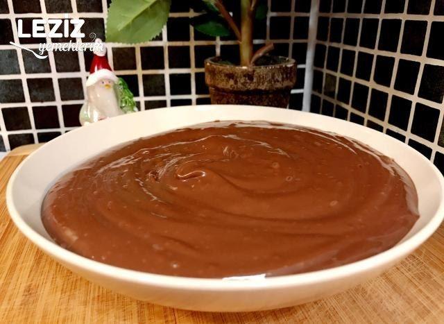 Yumurtasız Çikolatalı Yaş Pasta Kreması