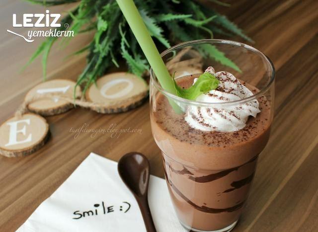 Çikolatalı Fındık Kremalı Milkshake