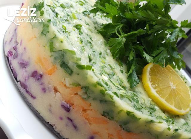 Fresh Patates Salatası Pastası (Pişirilerek)