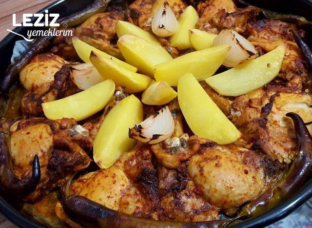 Fırında Soslu Tavuk Pirzola  (Tadı Şahane)