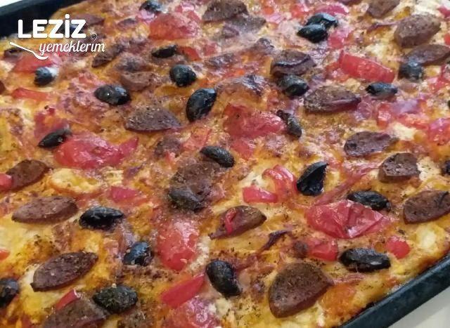 Pizza Börek Yapılışı