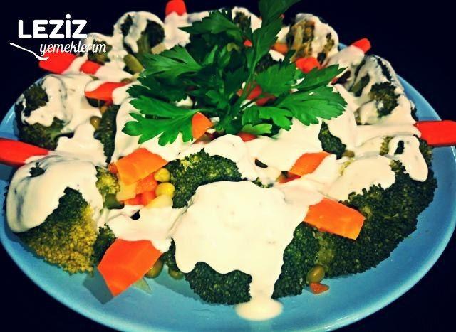Haşlama Brokoli Ve Havuç (Çok Lezzetli)