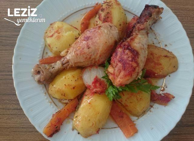 İftara Pratik Tavuk Patates