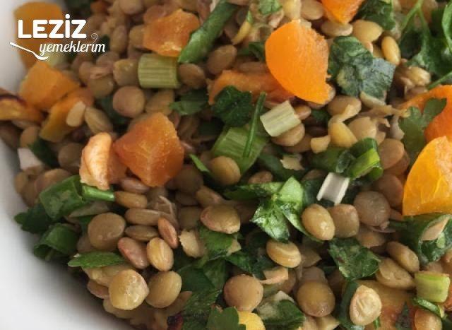 Izgara Balkabaklı Mercimek Salatası