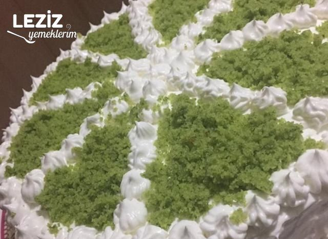 Ispanaklı Pasta Yapımı