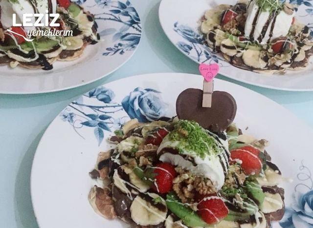 Ev Usulü Waffle