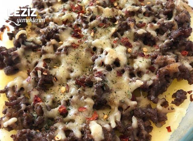 Fırında Kıymalı Patates Püresi