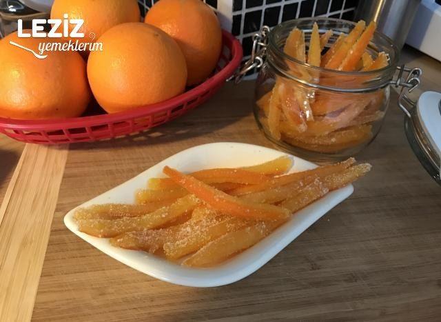 Portakal Kabuğu Şekerleme