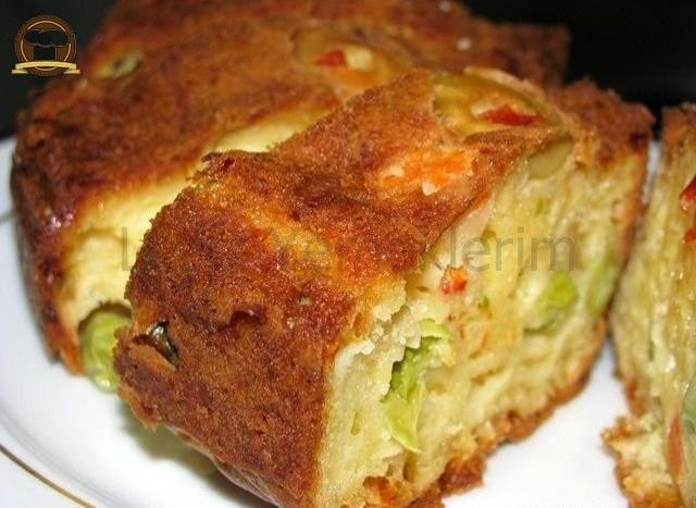 Sebzeli Akdeniz Keki