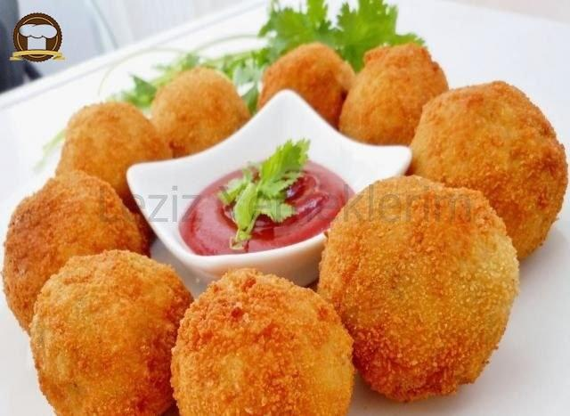 Baharatlı Patates Kroket