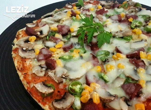 Bazlamalı Pizza