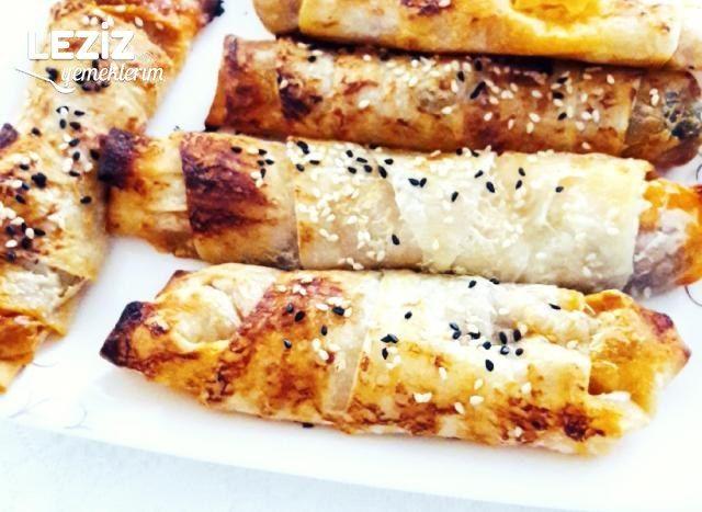 Hazır Yufkadan Patlıcanlı Börek
