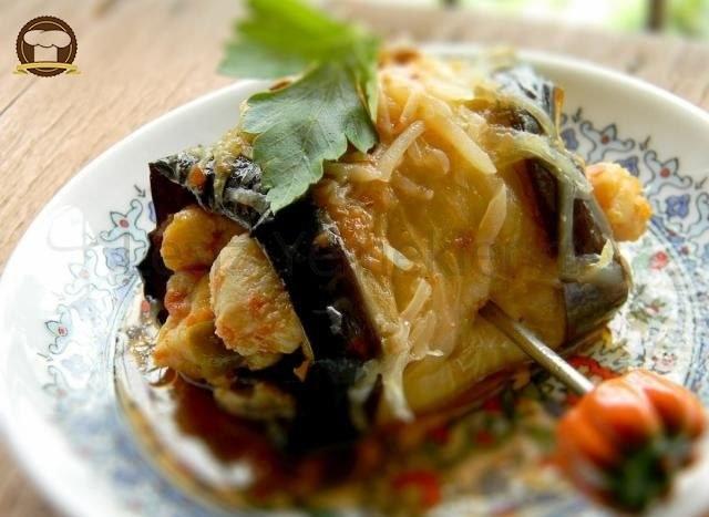 Tavuklu Patlıcan Sarma