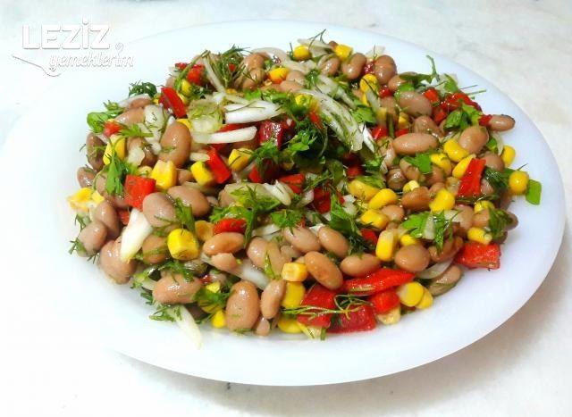 Leziz Barbunya Salatası