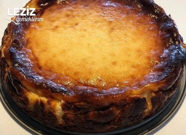 San Sebastian Cheesecake Yanık Cheesecake Leziz Yemeklerim