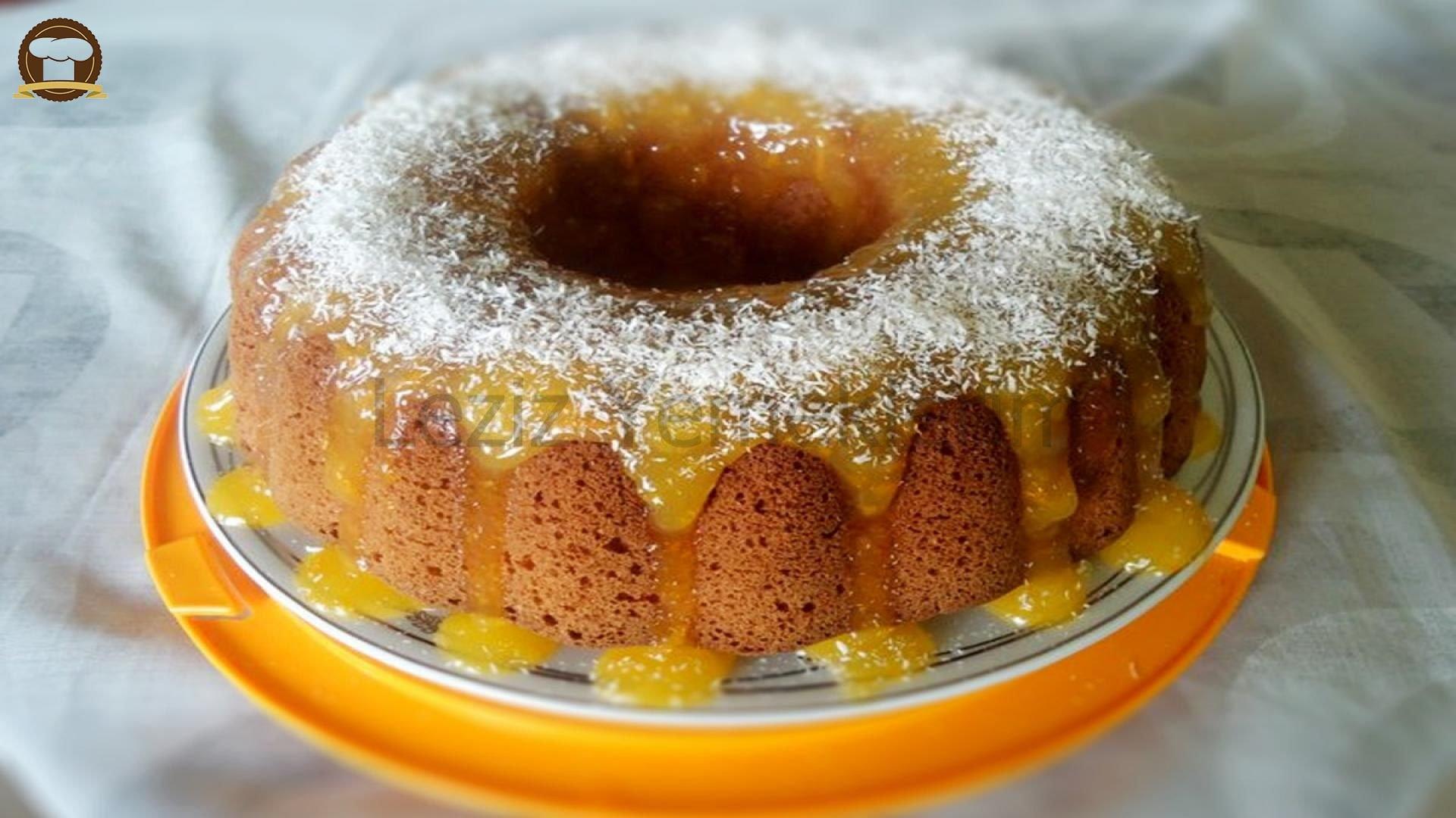 Portakallı Limonlu Soslu Kek