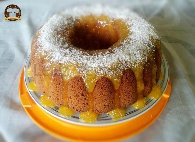 Şef Mustafa'nın Limonlu Portakal Soslu Keki