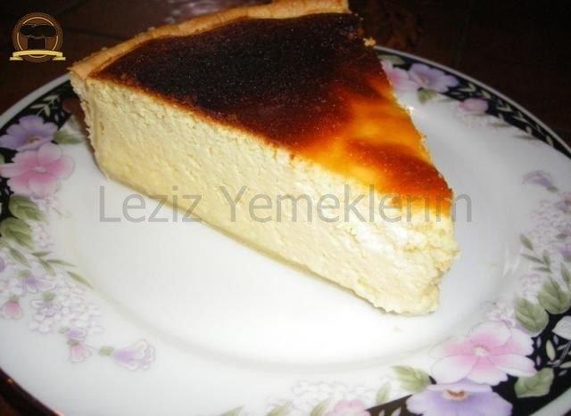 Fransız Usulü Peynir Tatlısı