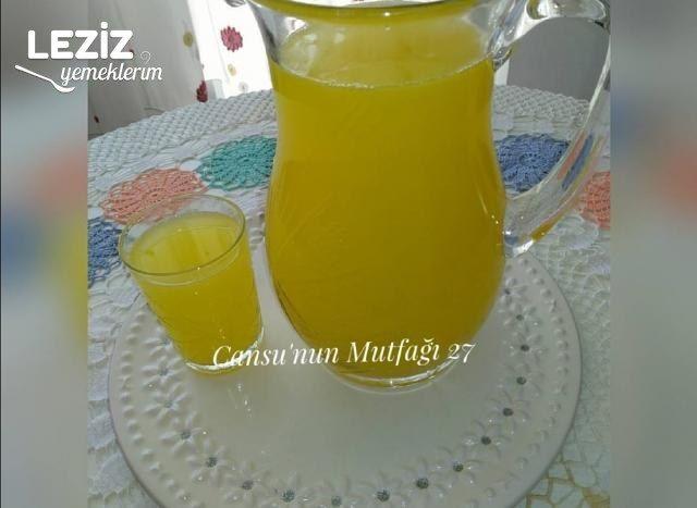 1 Adet Limon 1 Adet Portakaldan Limonata