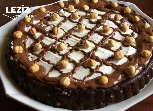 Tart Kalıbında Mozaik Pasta