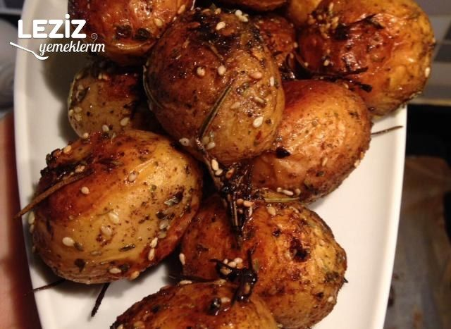 Fırında Baharatlı Baby Patates