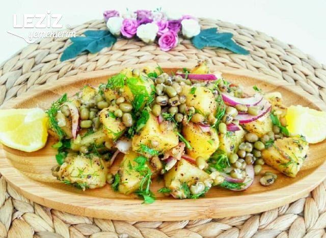 Maş Fasulyeli Patates Salatası