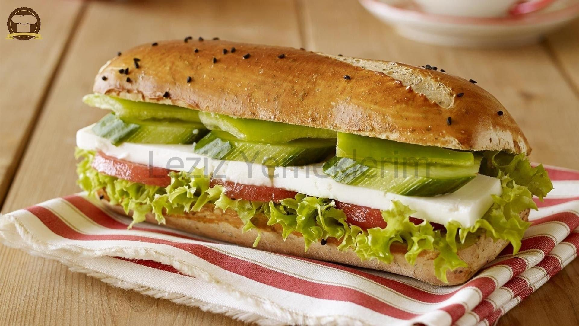 Evde Pratik Sandviç Yapımı Tıklayınız