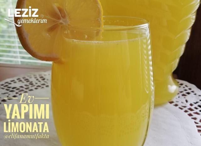 Ev Yapımı Limonata (Çok Kolay)