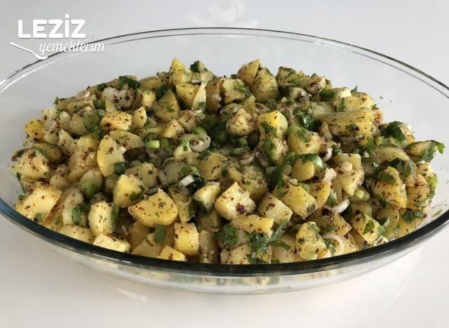 Çok Kolay Patates Salatası