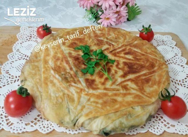Nefis Kıymalı Ispanaklı Börek