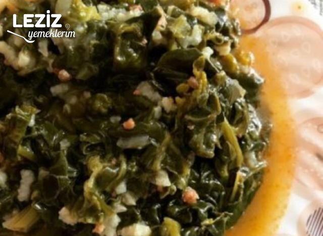Ispanak Yemeği Nasıl Yapılır