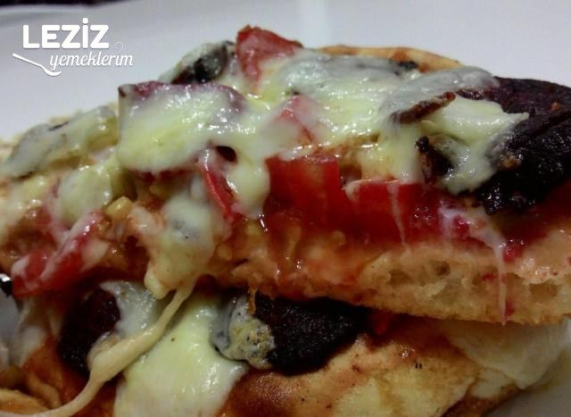 Bazlama Pizza (10 Dakikada)